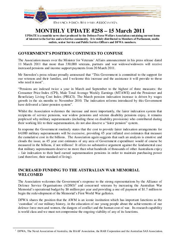 UPDATE 258 - 15 MARCH 2011.pdf