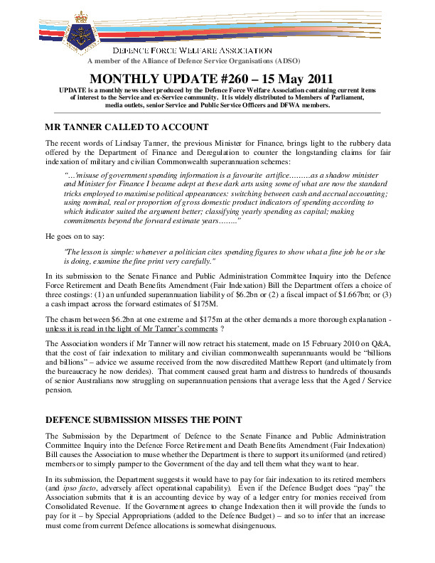 UPDATE 260 - 15 MAY 2011.pdf