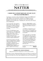 NSW Branch Newsletter - Natter - July 2014