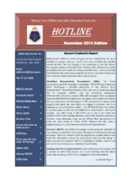 Qld Branch Newsletter - Hotline - November 2014