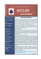 Qld Branch Newsletter - Hotline - March 2015