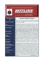 Qld Branch Newsletter - Hotline - July 2013