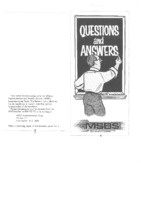 MSBS Questions and Answers